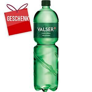 Valser Classic, kohlensäurehaltige, 6 x 1,5-Liter-Flaschen