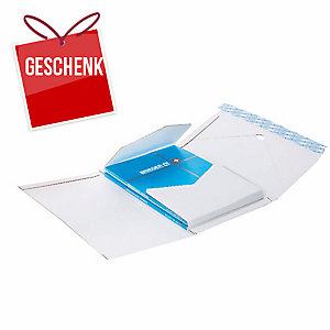 Verpackung Brieger Varifix 62/45, 32,5x25x1.5-8 cm, weiss