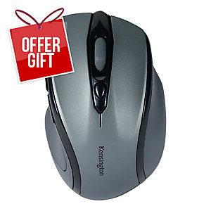Kensington Profit Wireless Mid Size Mouse With Nano Receiver Graphite Grey