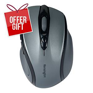 Kensington Profit Wireless Mid Size Mouse With Nano Receiver Graphite Grey