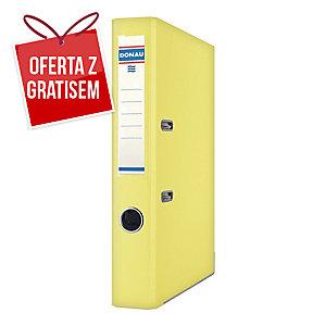 Segregator A4 DONAU Premium PP, 75 mm, żółty