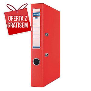 Segregator A4 DONAU Premium PP, 50 mm, czerwony
