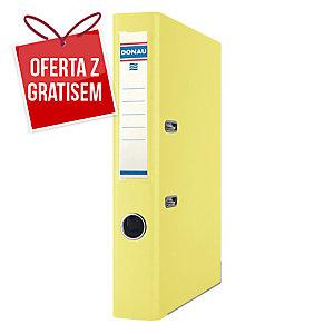 Segregator A4 DONAU Premium PP, 50 mm, żółty