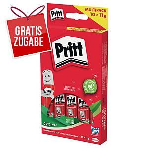Klebestift Pritt PS4BF, Multipack, 11g, 10 Stück