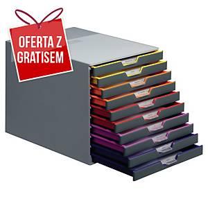 Moduł archiwizacyjny DURABLE Varicolor, 10 szuflad