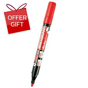 HORSE H-22 WHITEBOARD MARKER BULLET TIP RED