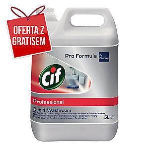 Płyn do łazienek CIF Washroom 2in1, 5 l