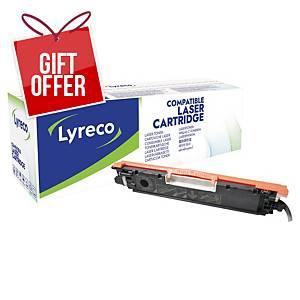 LYRECO LAS CART COMP HP CLJ CE310A BLK