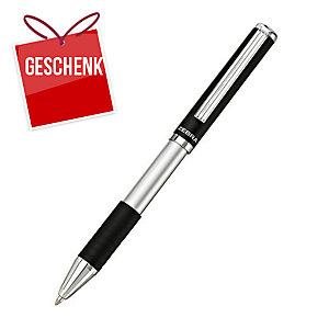Zebra SL-F1 Kugelschreiber, teleskopisch, Minenfarbe: blau, Schaftfarbe: schwarz
