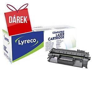 LYRECO kompatibilní laserový toner HP 80A (CF280A), černý