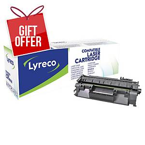 LYRECO LAS CART COMP HP CD280A LJ PRO400