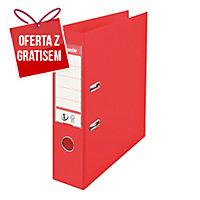 Segregator z mechanizmem ESSELTE Vivida Power No.1  A4 75 mm czerwony