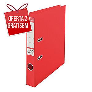 Segregator z mechanizmem ESSELTE Vivida Power No.1  A4 50mm czerwony