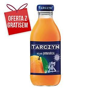 Sok pomarańczowy TARCZYN, zgrzewka 15 butelek x 0,3 l