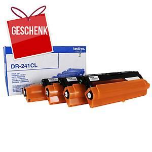 BROTHER Trommel für Laserdrucker DR241CL schwarz