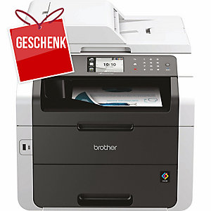 Multifunktions Center Brother MFC-9330CDW, Farb-LED, InkJet farbig