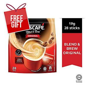 Nescafe 3 in 1 Coffee Mix Regular 20g - Pack of 28