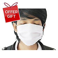 SALUTE CLOTH MASK PACK OF 12