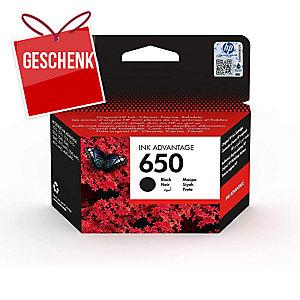 HP 650 Tintenpatrone CZ101AE schwarz 360 Seiten