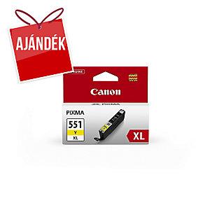 Canon CLI-551XL nyomtatópatron sárga