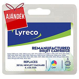 Lyreco kompatibilis nyomtatópatron HP 301XL 3-színű