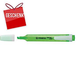 Leuchtmarker Stabilo Swing Cool 275/33, Keilspitze, Strichbreite 1-4 mm, grün