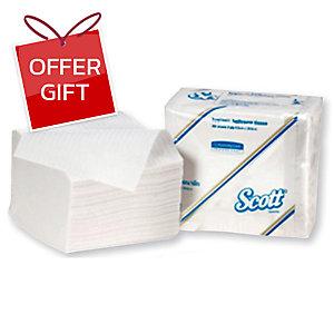 SCOTT POP-UP NAPKINS - BOX OF 200 SHEETS