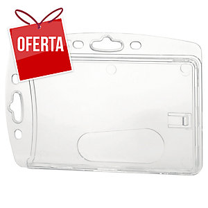 Pack de 10 identificadores simples DURABLE 8905 transparente