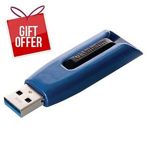 VERBATIM 49806 V3 MAX USB 3.0 DRIVE 32GB