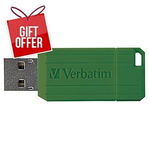 VERBATIM 49065 PINSTRIPE USB DRIVE 64GB