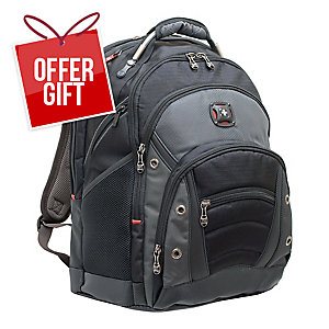 """Wenger 60635 Synergy 16"""" Notebook Backpack"""
