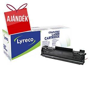 Lyreco kompatibilis toner lézernyomtatókhoz Canon CRG728 (3500B002), fekete