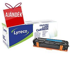 Lyreco kompatibilis toner lézernyomtatókhoz HP 131A (CF211A), ciánkék