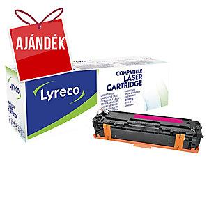 Lyreco kompatibilis lézertoner HP CF213A magenta