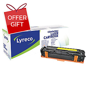 LYRECO CF212A COMPATIBLE LASER CARTRIDGE YELLOW