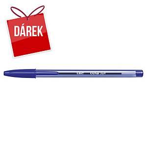Bic Cristal Soft neklikací pero, 1,2 mm, modré