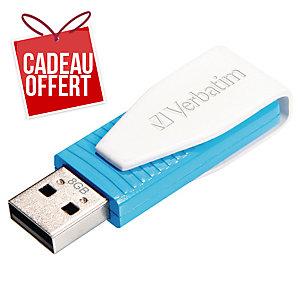 Clé USB Verbatim Store n go Swivel USB 2.0 8Go bleue