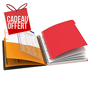 Cahier spirale Oxford Managerbook A4+ - 160 pages - quadrillé