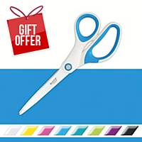 Leitz WOW Scissors 20cm Blue