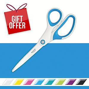 Leitz WOW Scissors 20cm Blue
