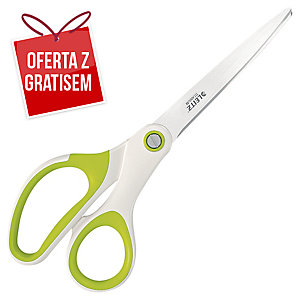 Nożyczki LEITZ WOW, 20 cm, zielone