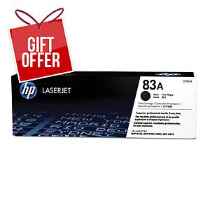 HP 83A CF283A TONER CART BLACK