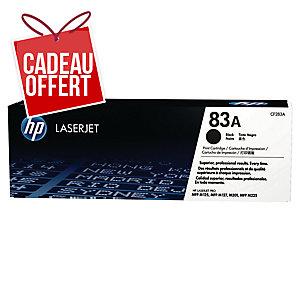 Cartouche laser HP CF283A n°83A noire