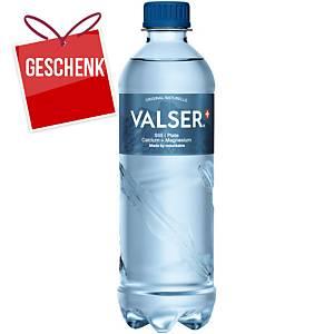 Valser Still Mineralwasser ohne K. Calcium+Magnesium 50cl, Pack à 24 Flaschen