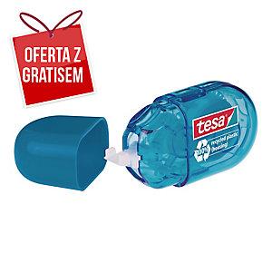 Korektor w taśmie TESA Mini Roller ecoLogo, 5 mm x 6m, niebieski