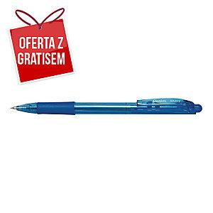 Automatyczny długopis PENTEL BK417 WOW, niebieski
