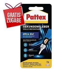 Sekundenkleber Pattex PSG2C, Ultra Gel, 3g