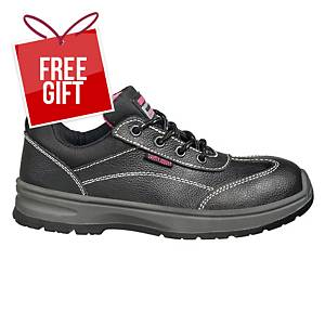 Safety Jogger Bestgirl S3 Low Cut Safety Shoes Black - Size 39