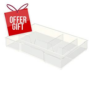 LEITZ ORGANIZER TRAY FOR DRAWER CABINET