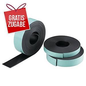 Magnetklebeband Legamaster 186300, Maße: 19mm x 3m, schwarz